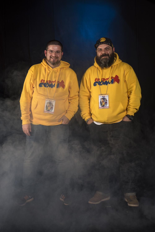 Due degli organizzatori_da sx luigi minonne e danilo curatti